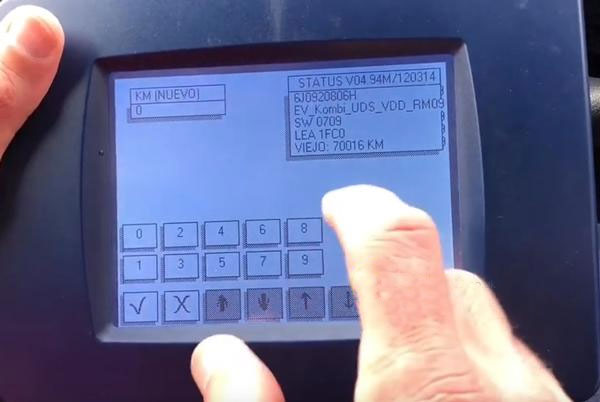 How-to-adjustment-mileage-for-Seat-Ibiza-6J-2014-with-Digiprog-3-10